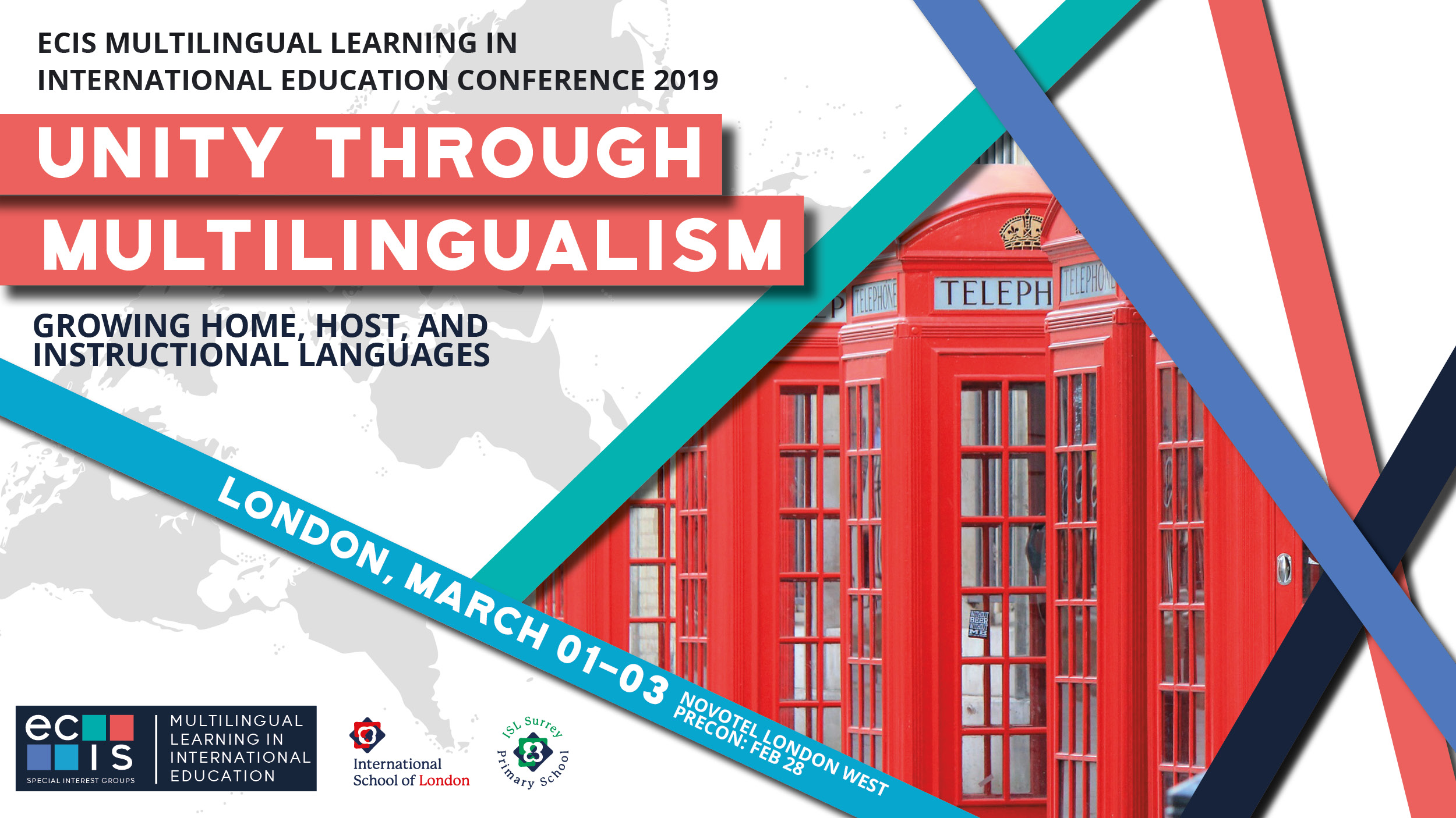2019 Multilingual Learning Conference | London | 1-3 March 2019 -  Educational Collaborative for International Schools (ECIS)